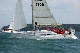 Bareback yacht charters in the Solent
