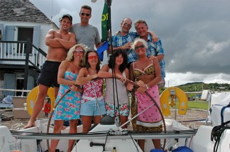 Caribbean regatta yacht charter for individuals, couples or groups
