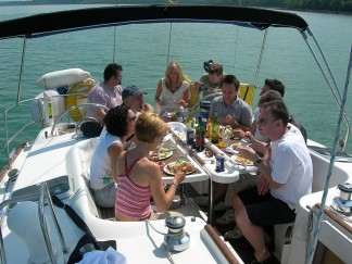 Corporate Sailing Days in the Solent