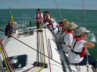 Bespoke skippered corporate sailing packages on the South Coast