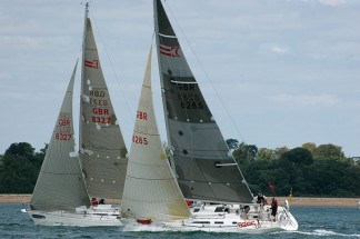 Beneteau 40.7 and Sigma 38 yachts for corporate sailing events