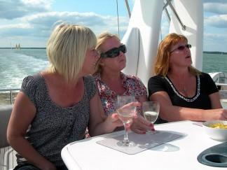 Luxury motor yacht days on the South Coast