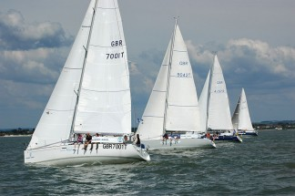 Skippered yachts for corporate regattas on the South Coast