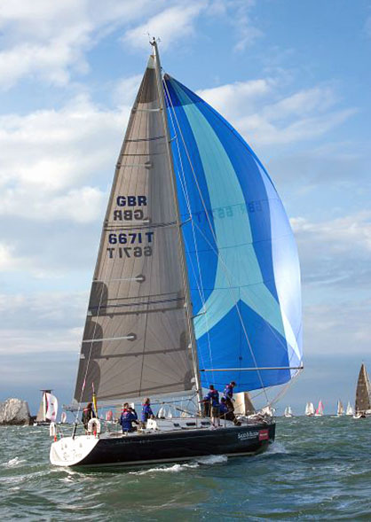 Skippered yacht charter for Round the Island Race