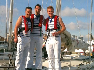 Stag sailing days on the Solent