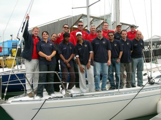 Yacht charter for team building exercises in the Channel