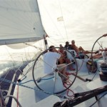 Corby 45 at sea