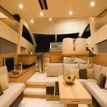 Fairline Phantom 48 luxury interior