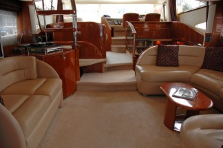 Princess 65 motor yacht luxury interior